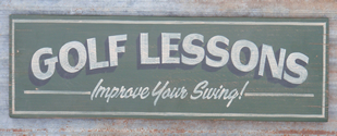 Golf_Lesson_Sign